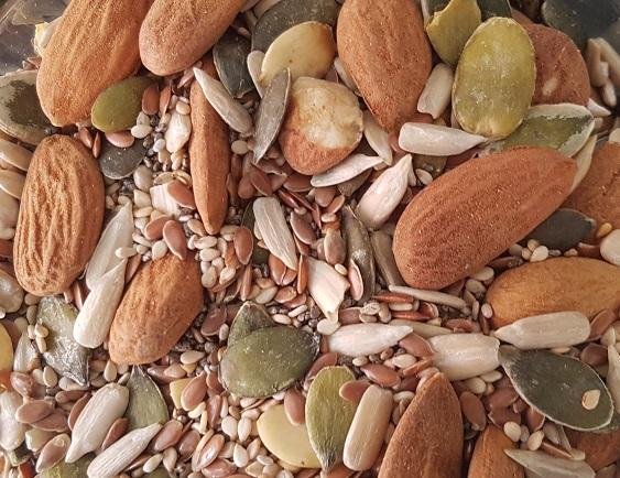 nødder til stenalderbrød